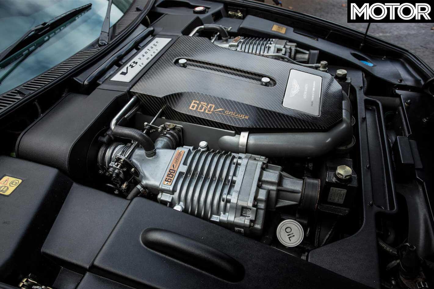 1998 2000 Aston Martin V 600 Le Mans Engine Jpg