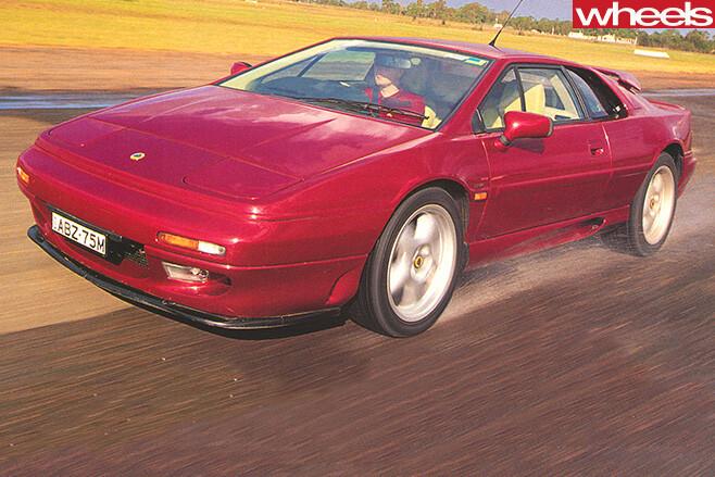 Lotus -Esprit -S4