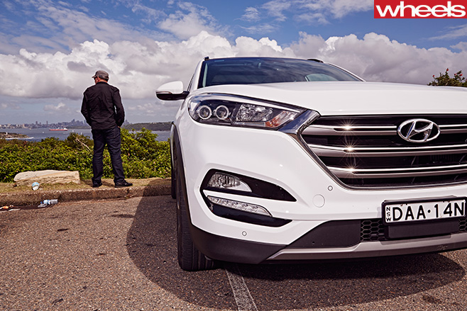 2016-Hyundai -Tucson -front