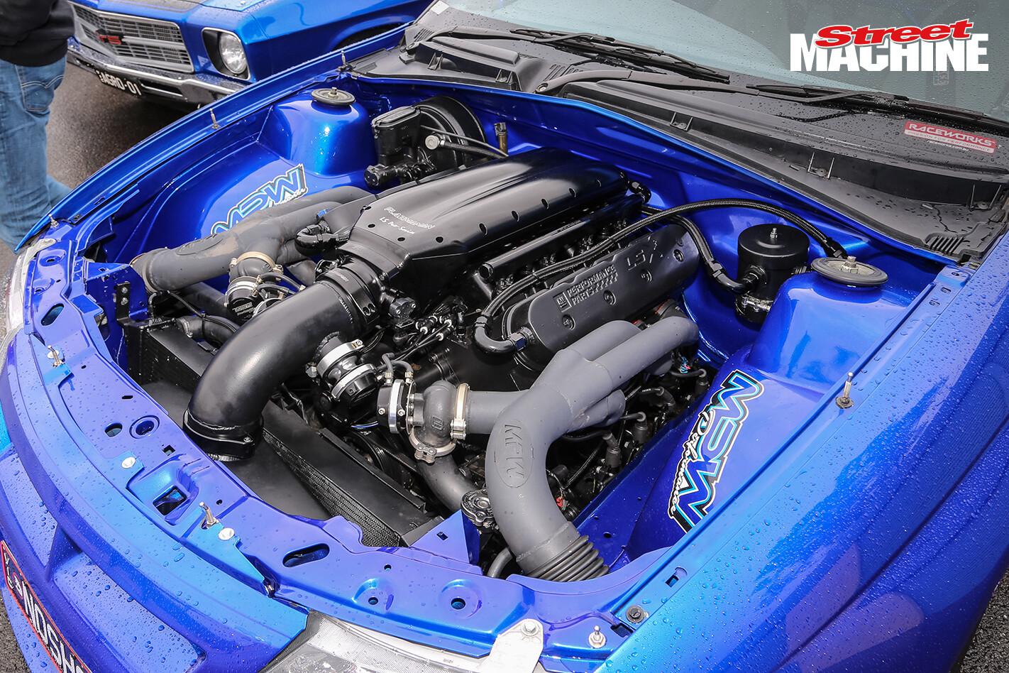 HSV Clubsport NOSHOW Engine