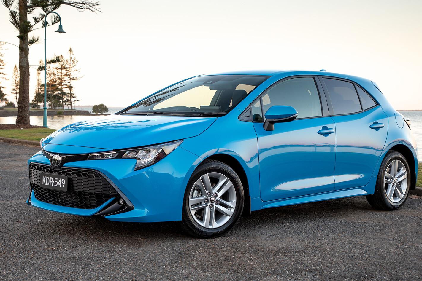 Toyota Corolla Blu Jpg