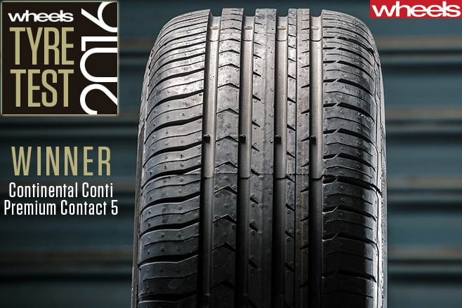 Contintential -tyre -winner -Wheels -tyre -test