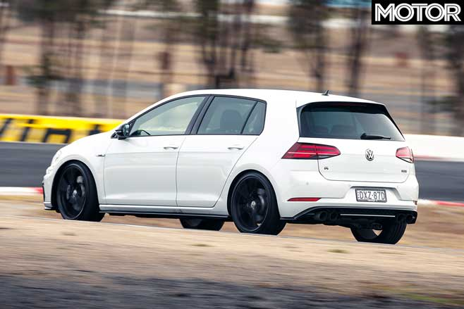 2019 Volkswagen Golf R Special Edition performance