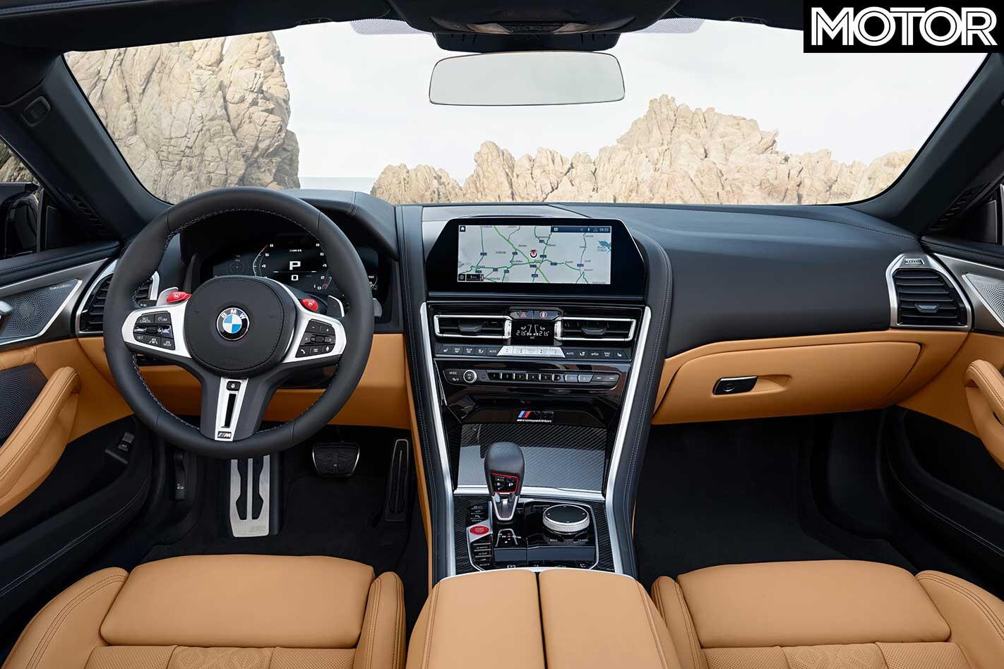 2020 BMW M 8 Convertible Interior Jpg