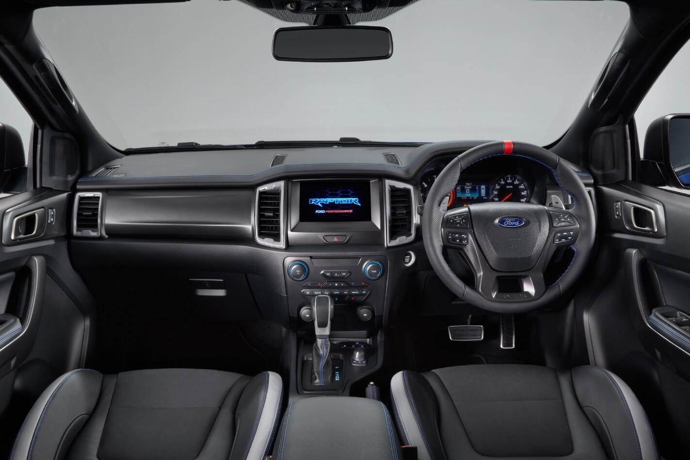 Ford Ranger Raptor Interior Jpg
