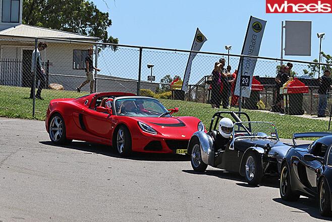 Lotus -Exige -ready -race