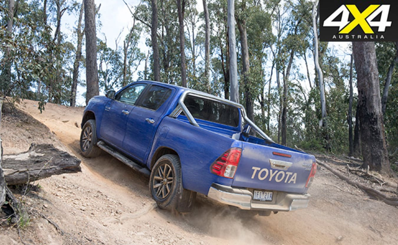 2016 Toyota Hilux dual cab off-road review