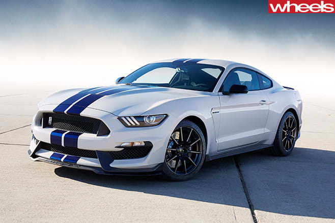 Supercharged -Ford -Mustang -front