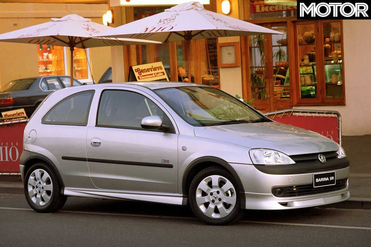 2001 Holden Barina S Ri Front Static Jpg