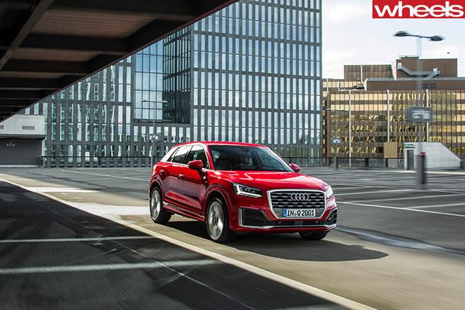 Audi -Q2-parked