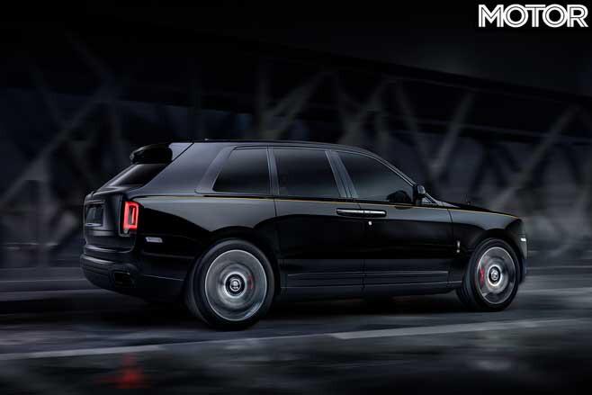 Rolls Royce Cullinan Black Badge Rear Jpg