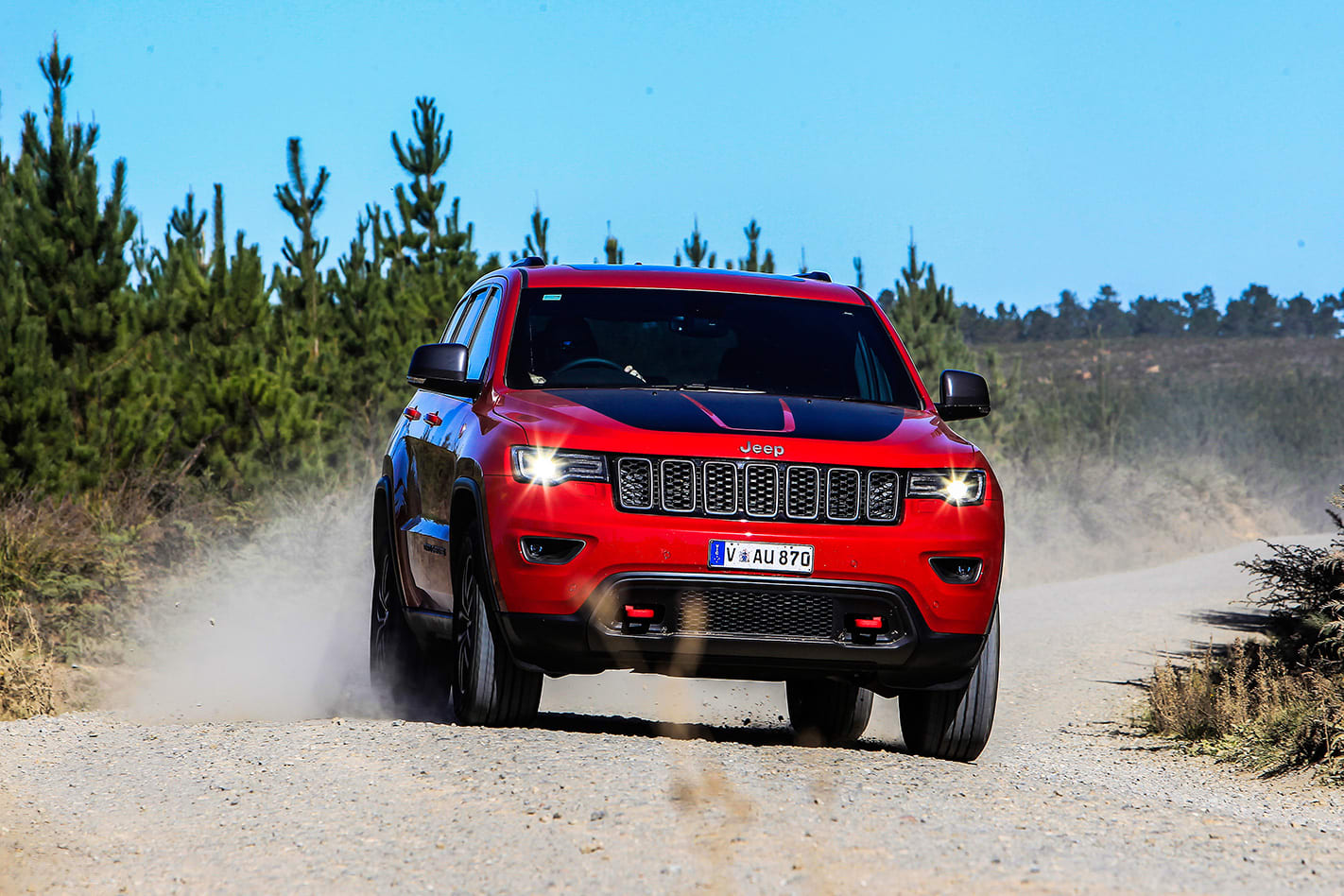 2017 Jeep Grand Cherokee trailhaawk