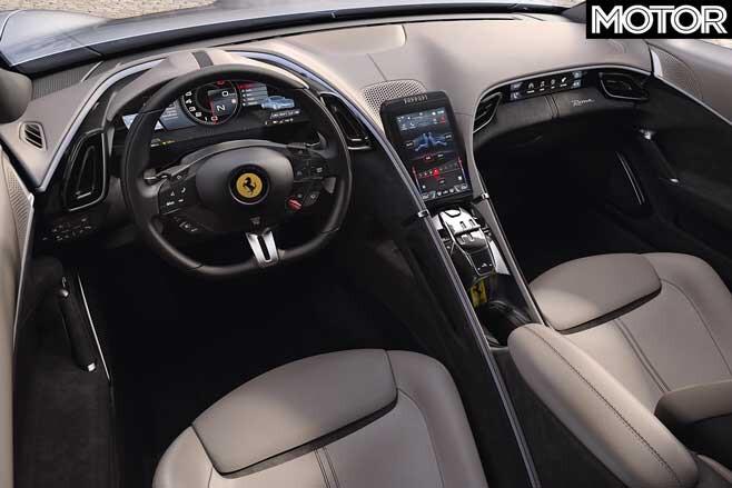 Ferrari Roma Interior Jpg