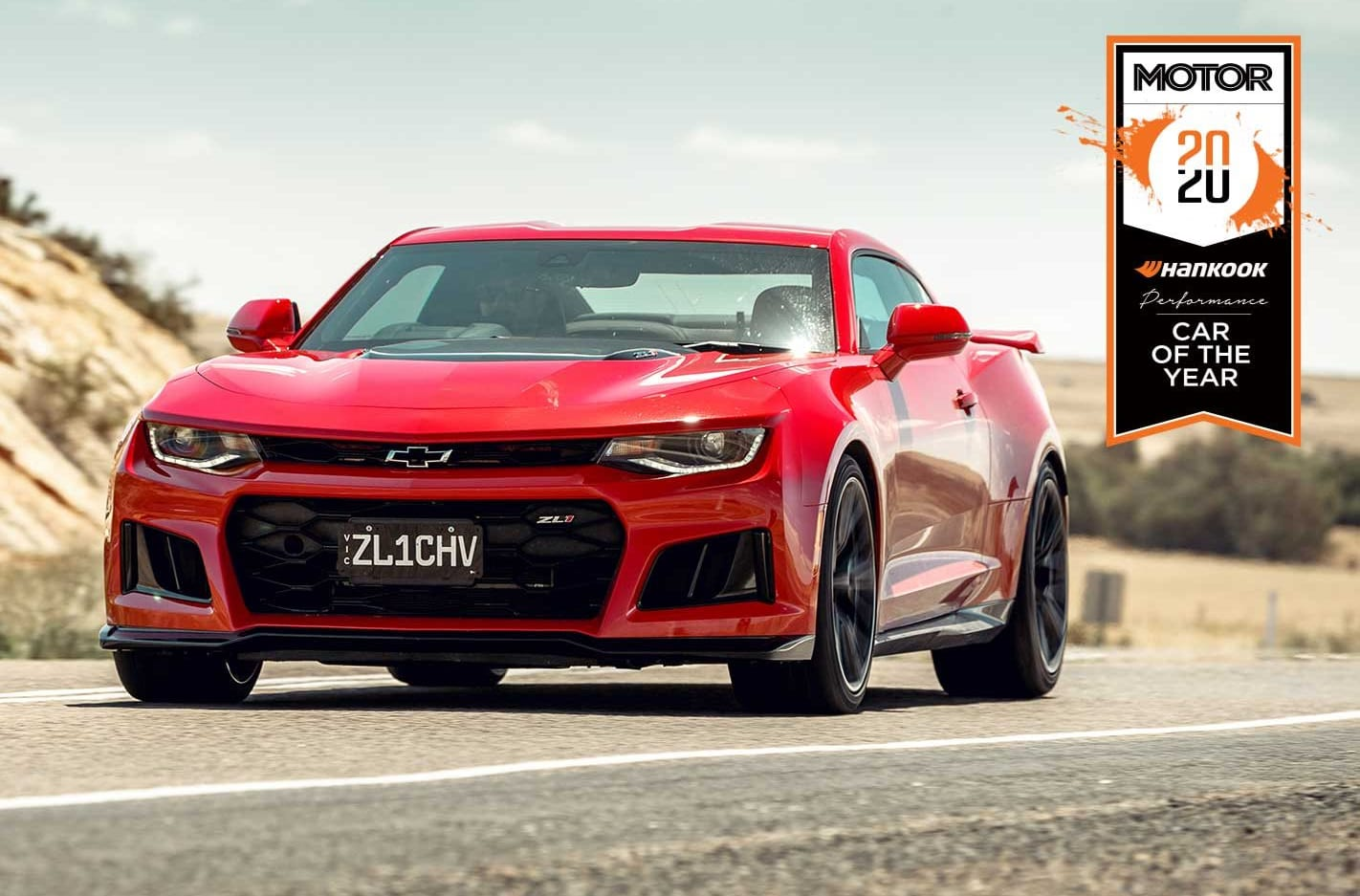 Chevrolet Camaro ZL1 Performance Car of the Year 2020 results