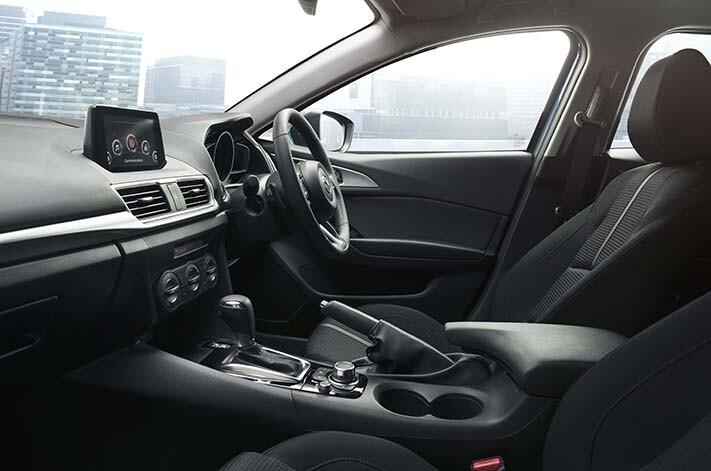 Mazda 3 Maxx interior