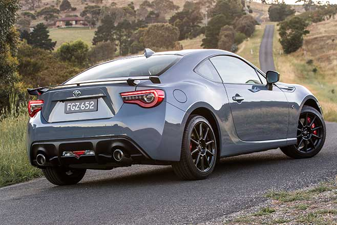 Toyota 86 upgrades rear