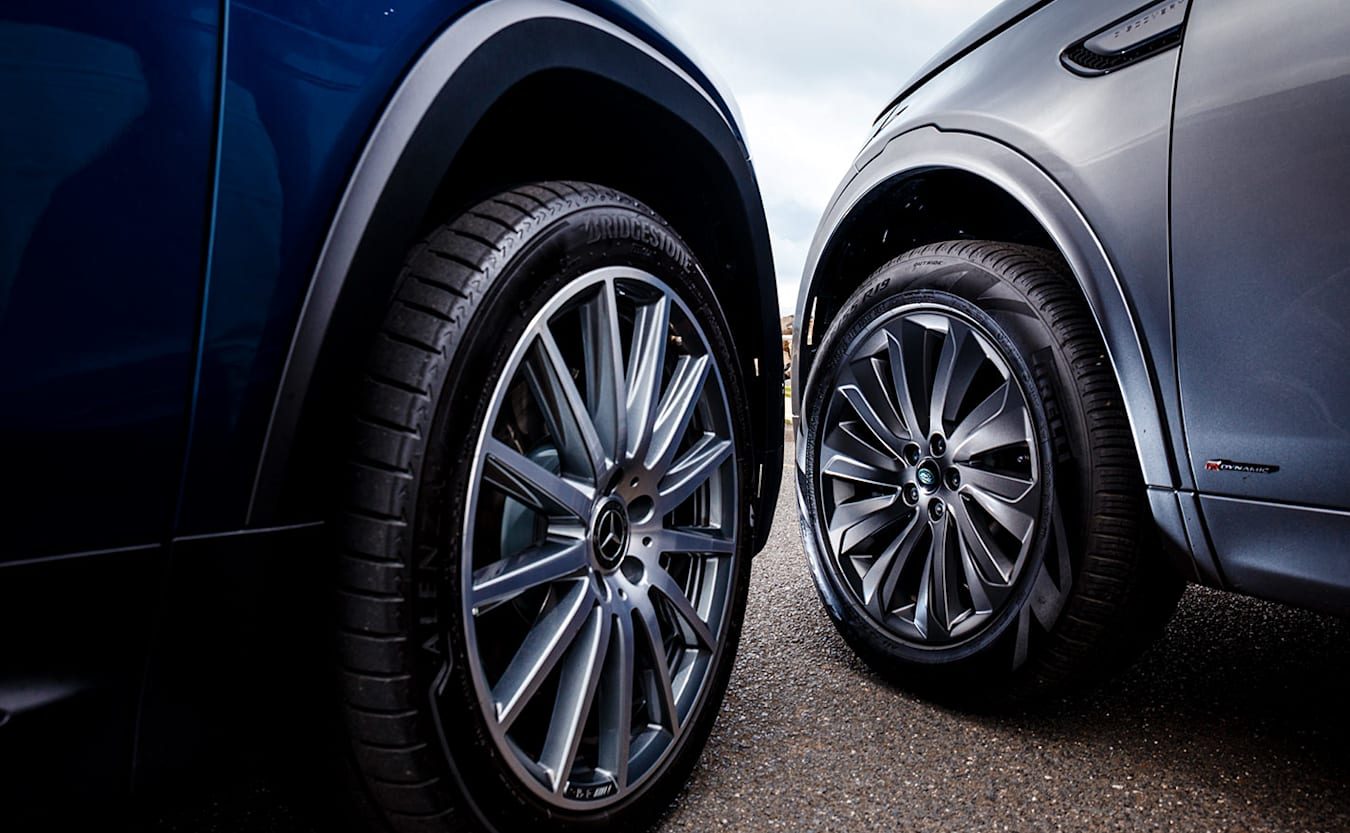 Mercedes-Benz GLB vs Land Rover Discovery Sport wheels