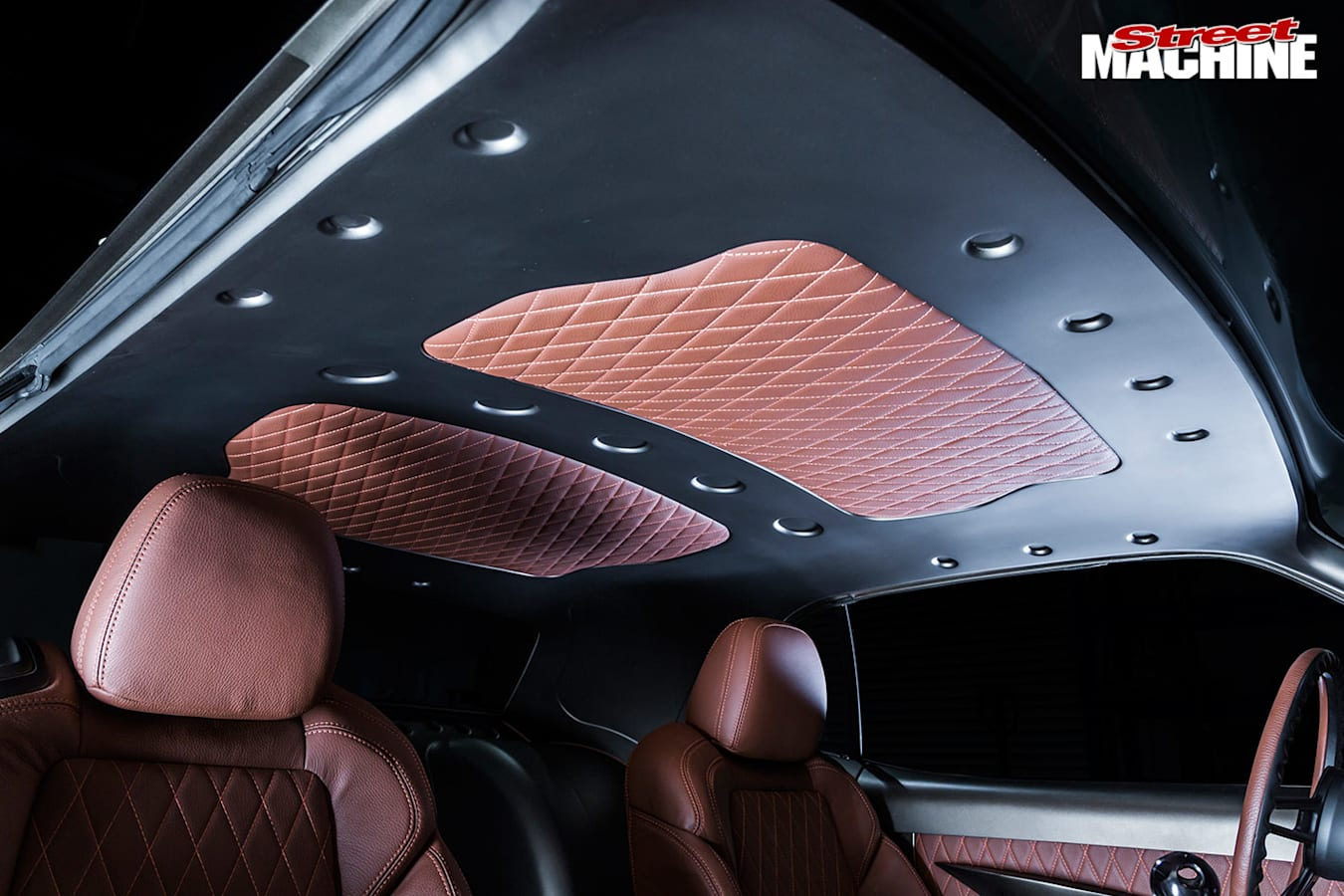 dodge challenger roof lining