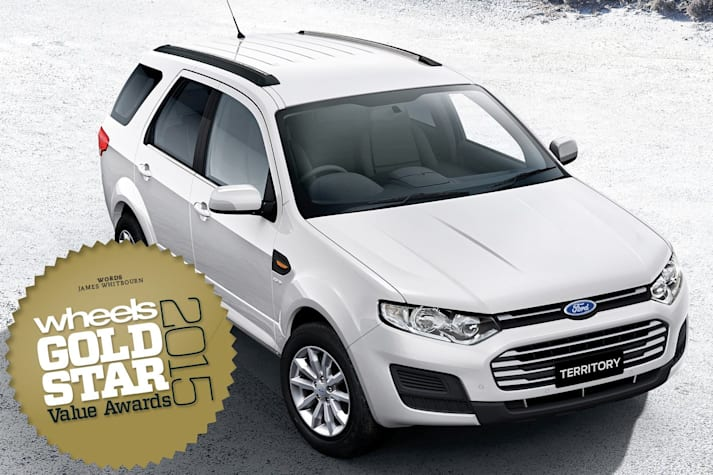 Large SUV/4WD: Gold Star Value Awards 2015