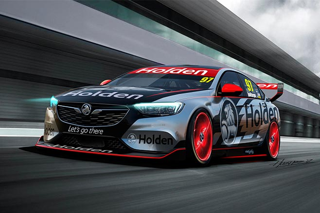 2018 supercars holden concept