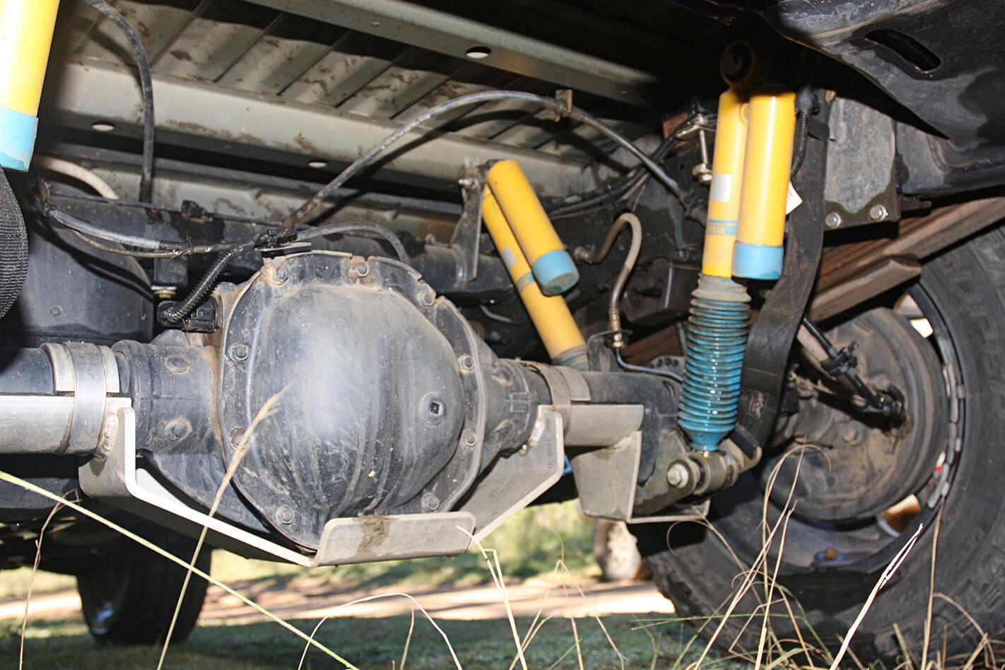 Wolf 4X4 Volkswagen Amarok underbody