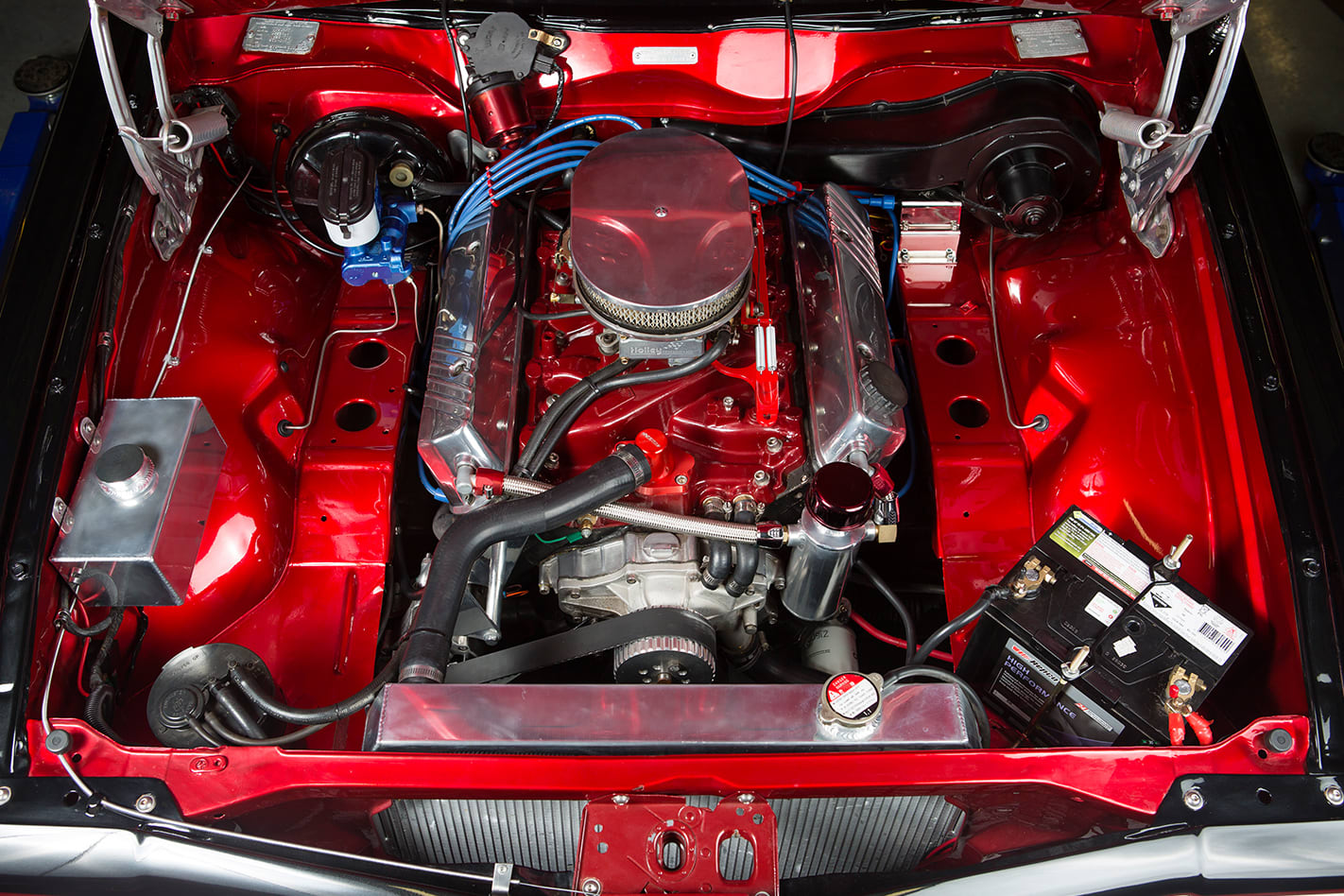 Holden Torana engine bay
