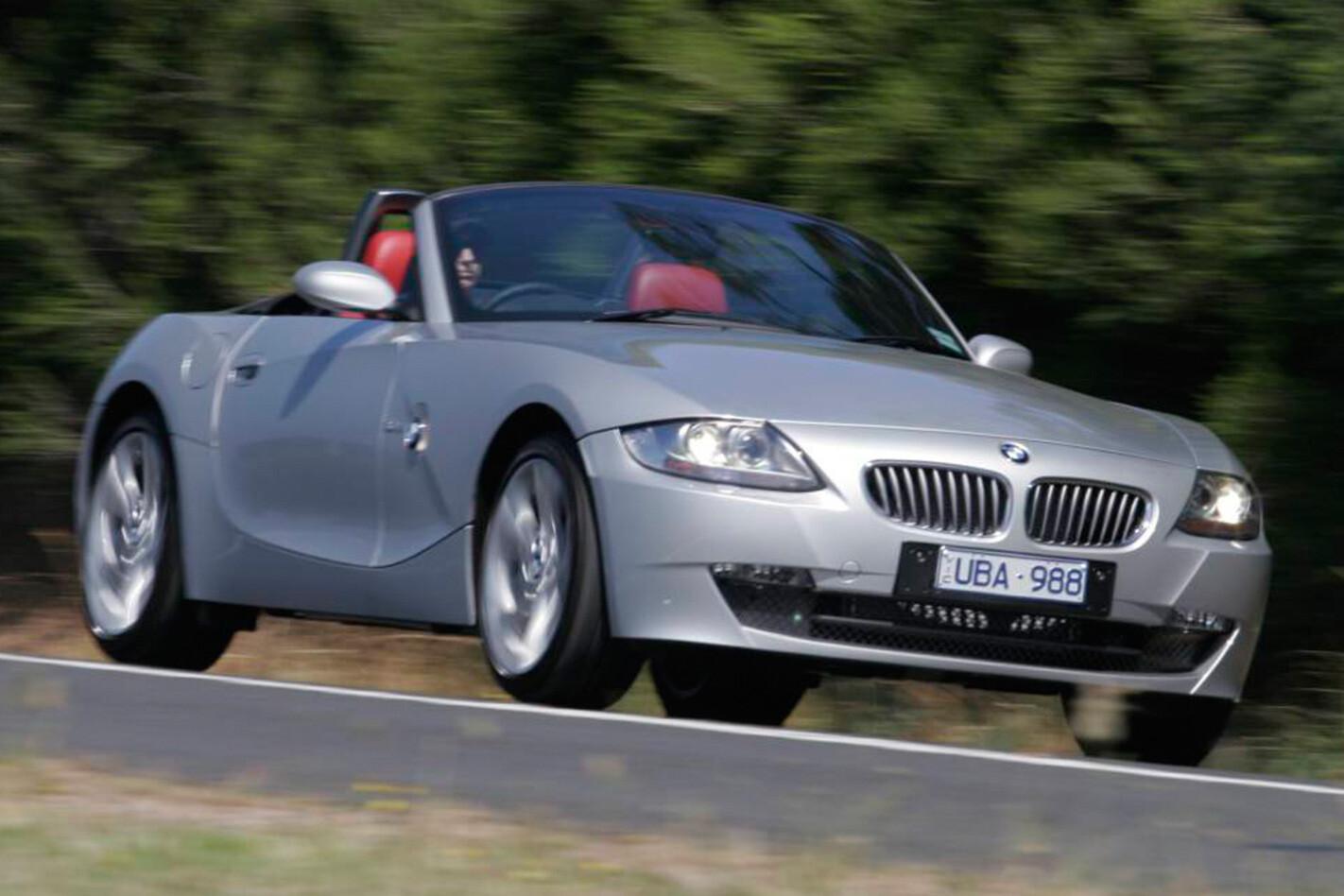 BMW Z4 3.0 front