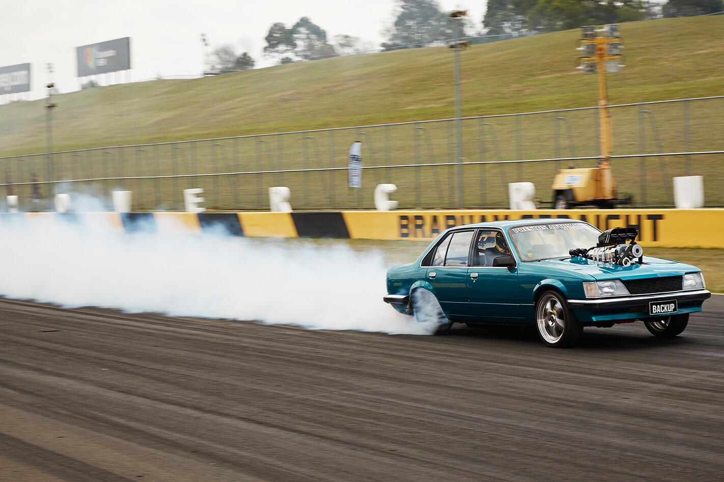 Brendan Cherry's Holden Commodore at Powercruise