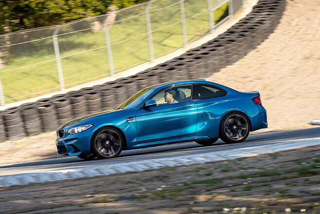 BMW M2 driving side