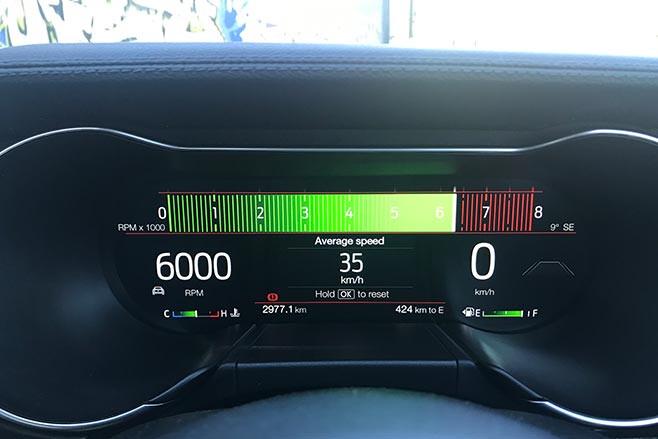 Mustang 2.3L high performance revs