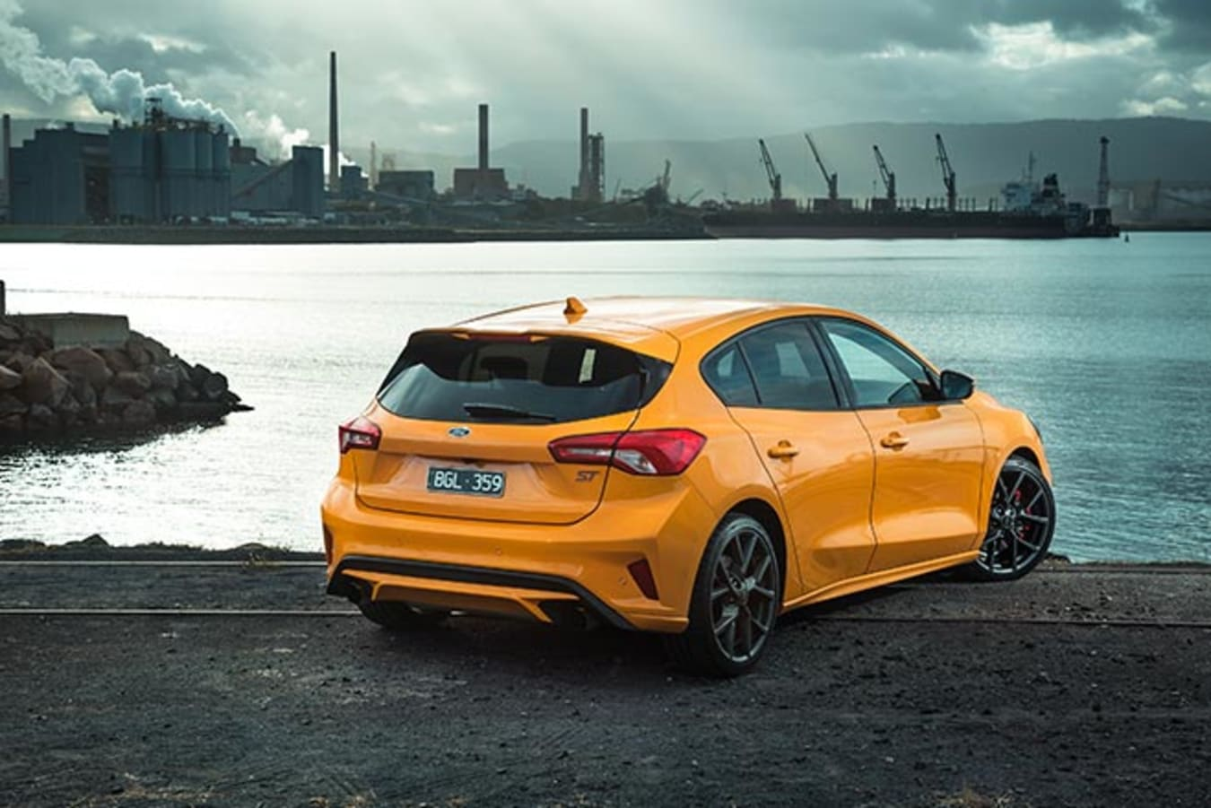 2020 Ford Focus ST rear