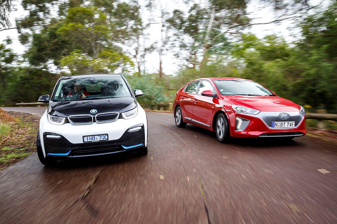Hyundai Ioniq vs BMW i3s