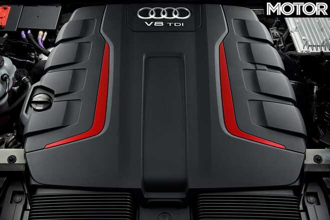 2019 Audi SQ8 engine