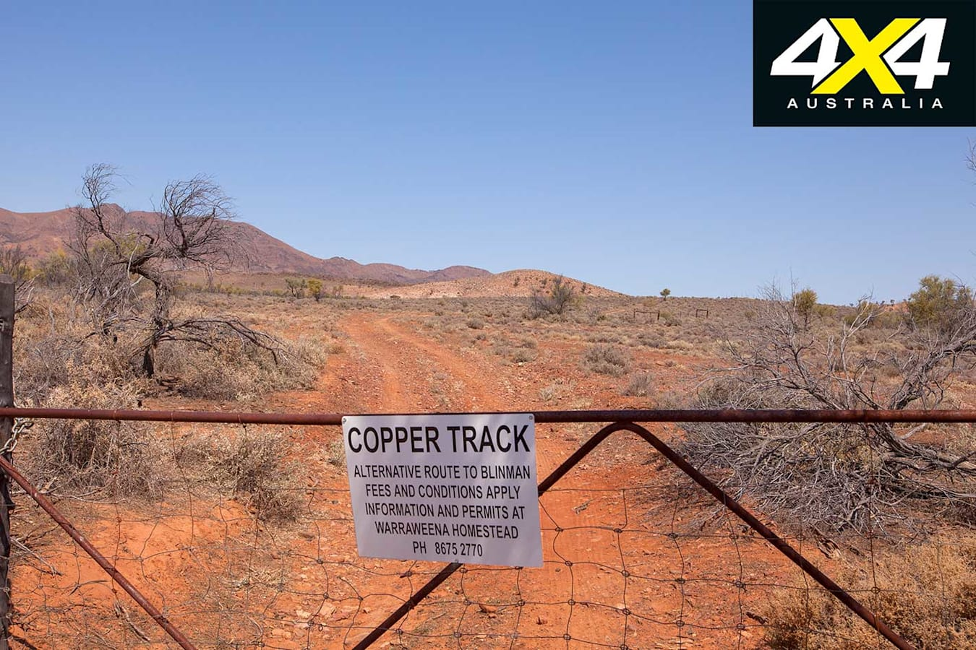 4 X 4 Trip Through The Copper Track Gate Jpg