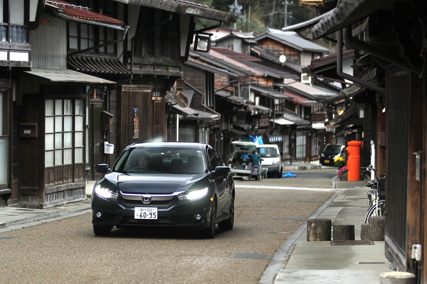 Honda Civic - how to drive in japan