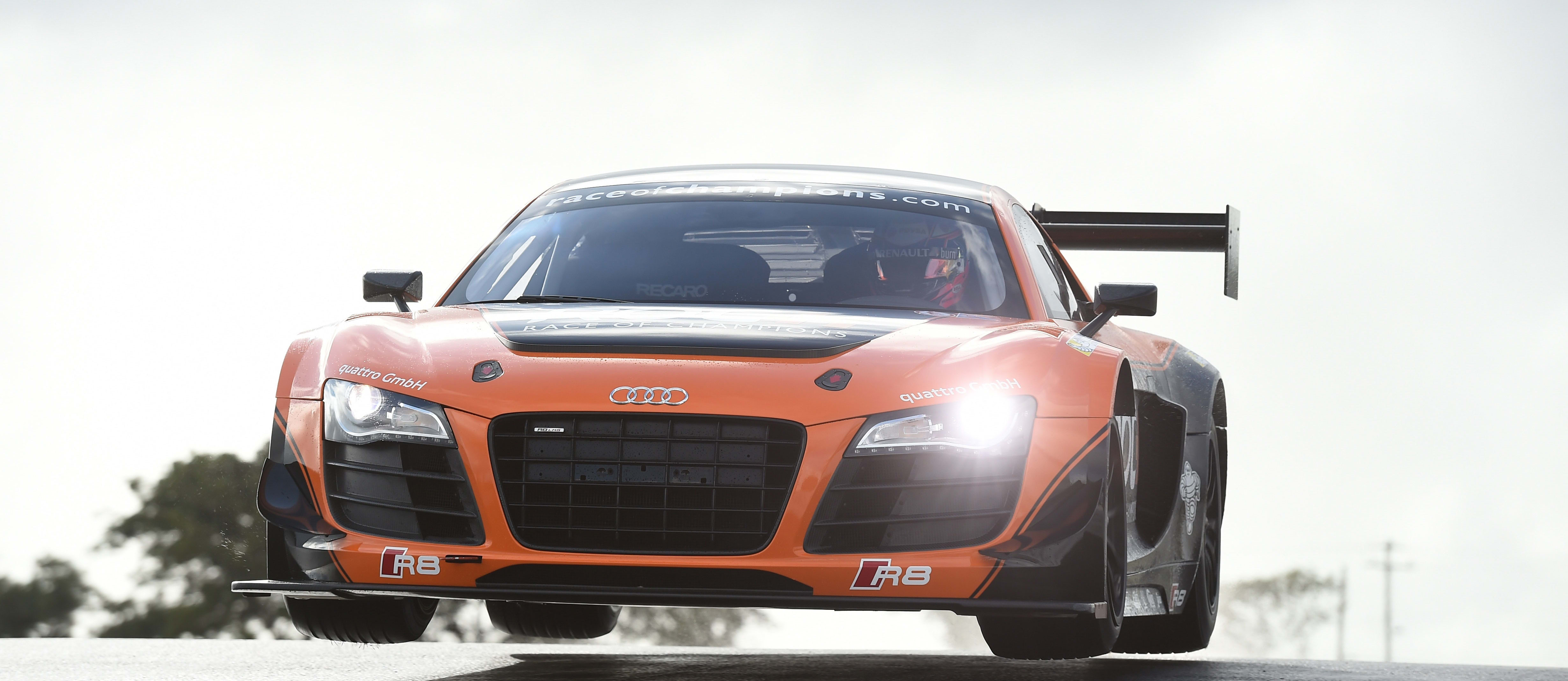 Audi R8 at Race of Champions