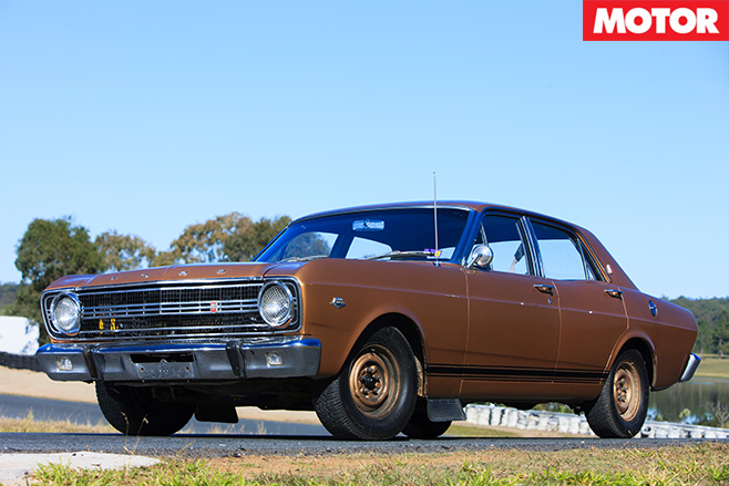Ford XR Falcon GT