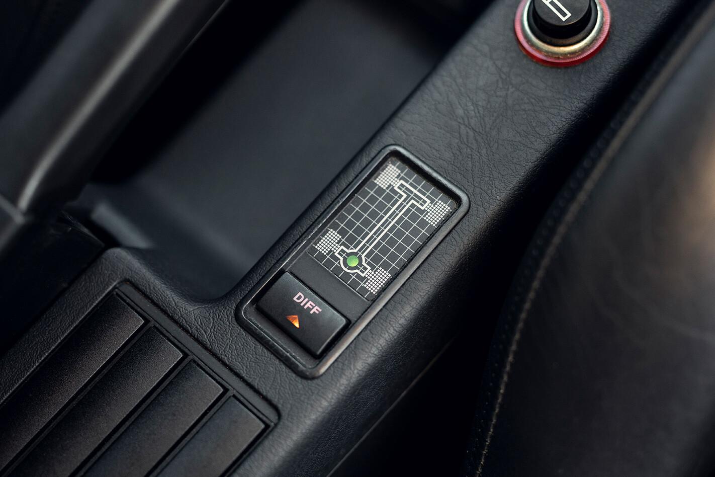 Audi RS2 avant centre console