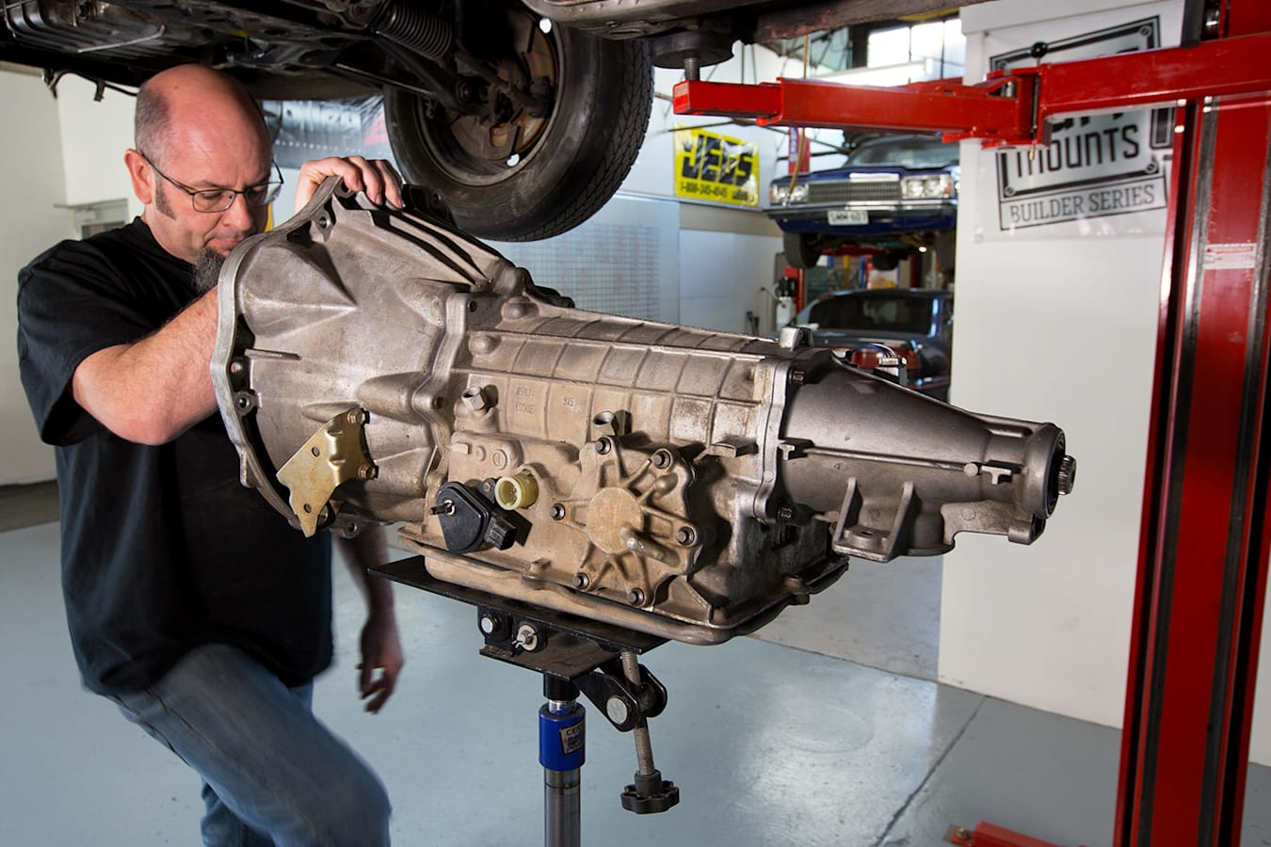 Barra engine swap