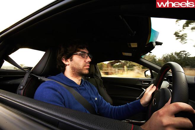Subaru -BRZ-driving