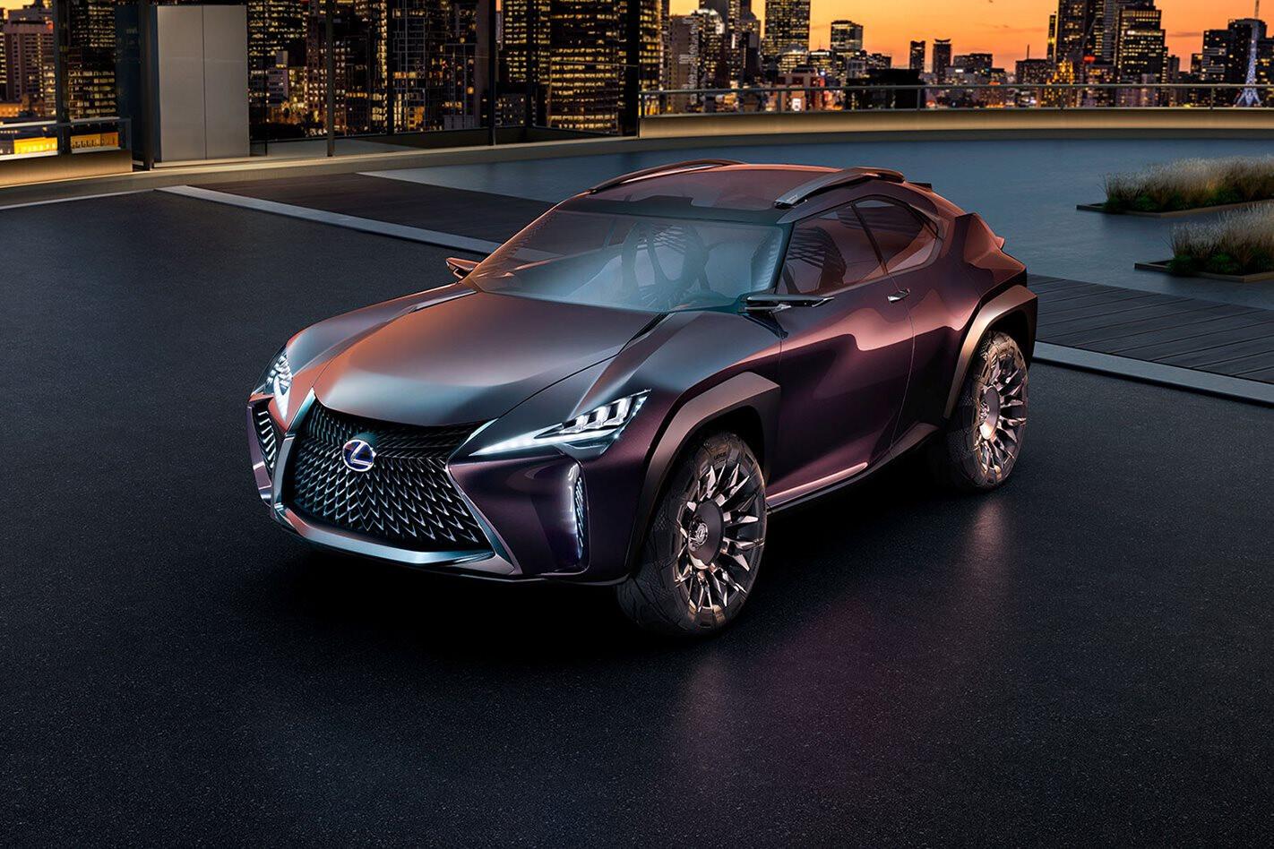 Lexus UX Concept front side