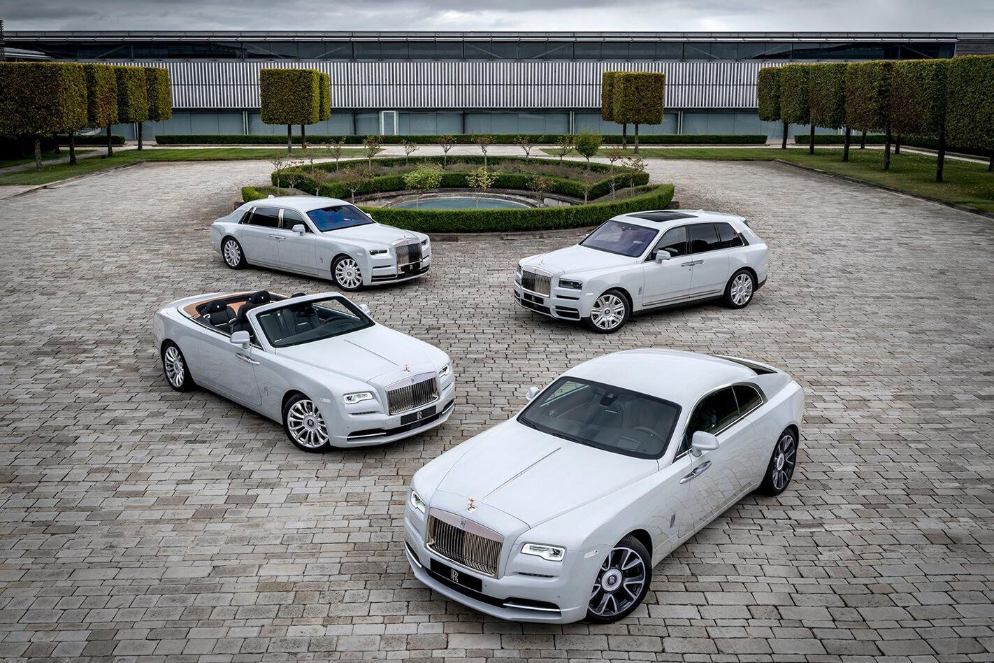 Rolls Royce range