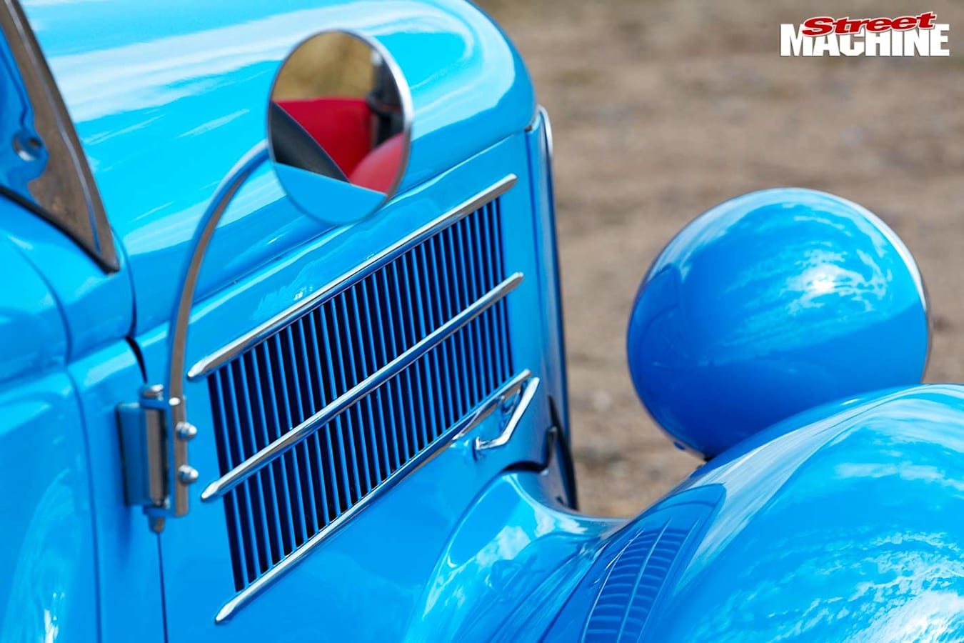 Ford Roadster mirror
