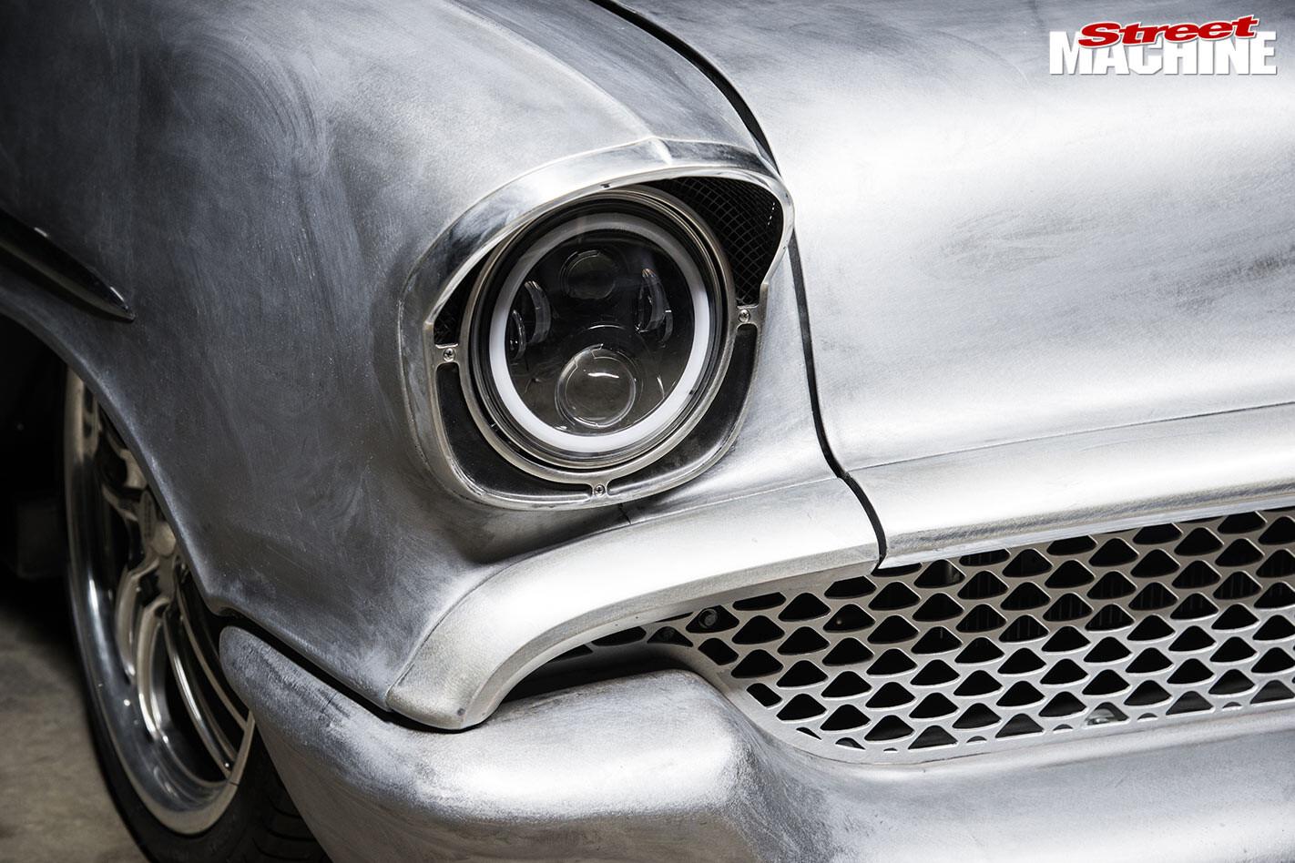 Chev Bel Air headlight