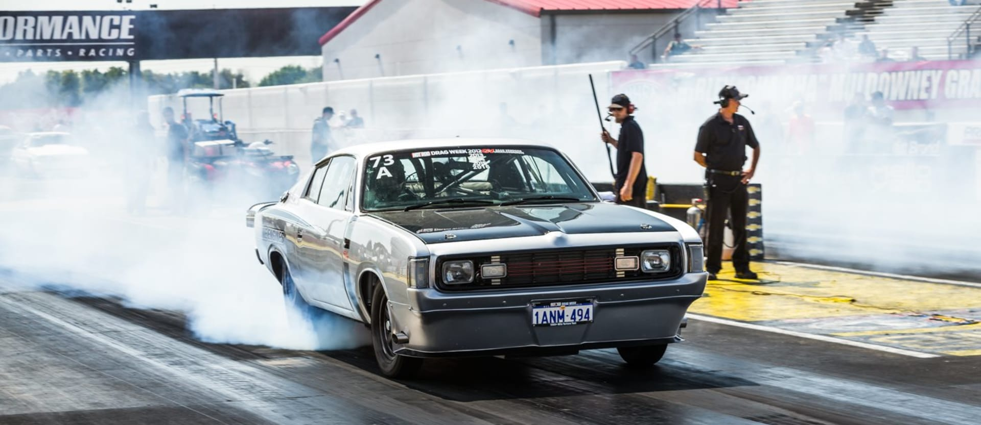 Valiant Charger Drag Week