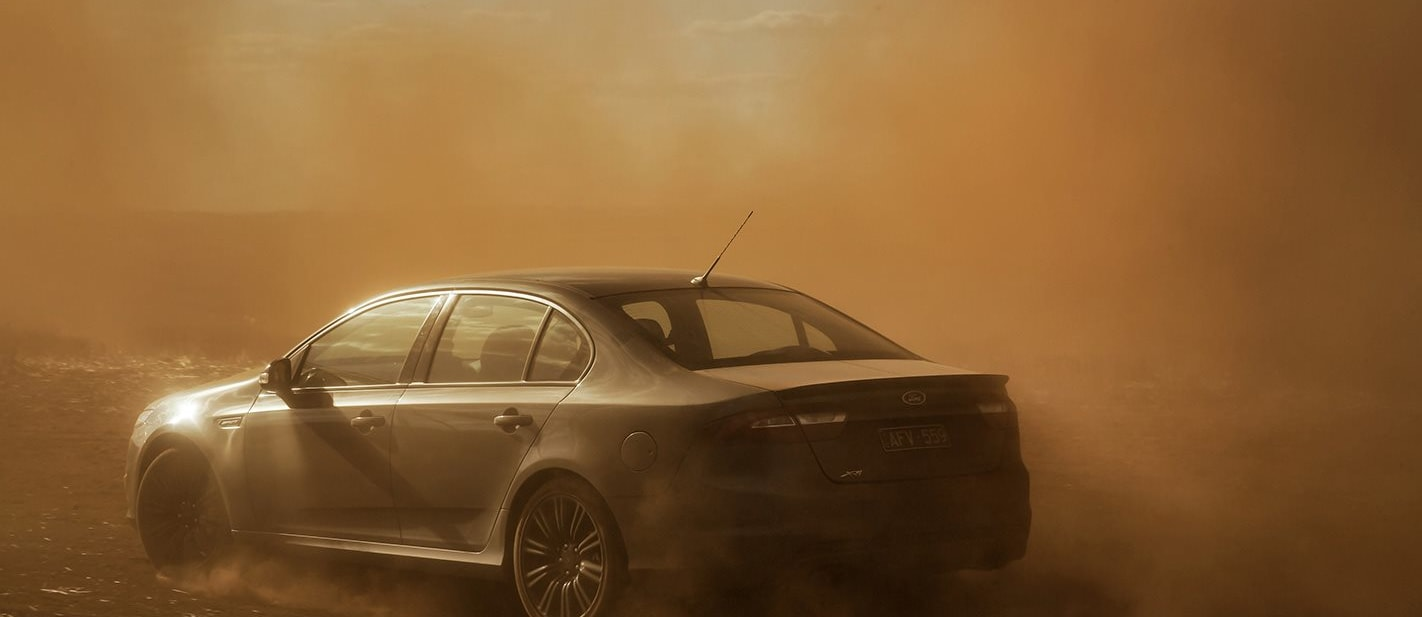 Falcon finally fades from Ford's virtual showroom