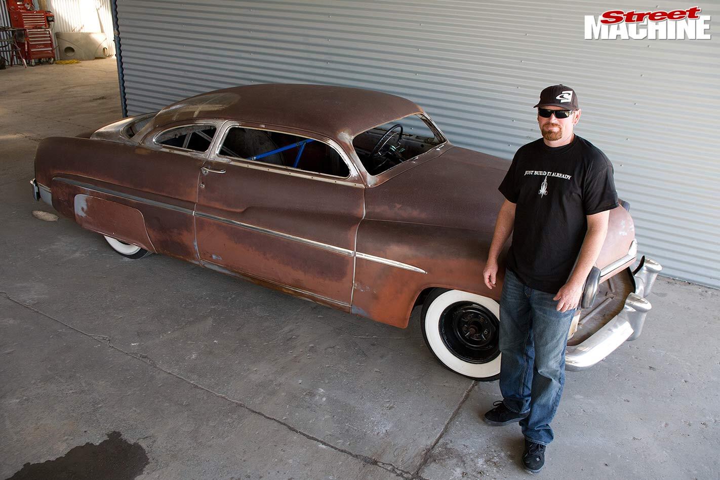 chopped 1951 Mercury