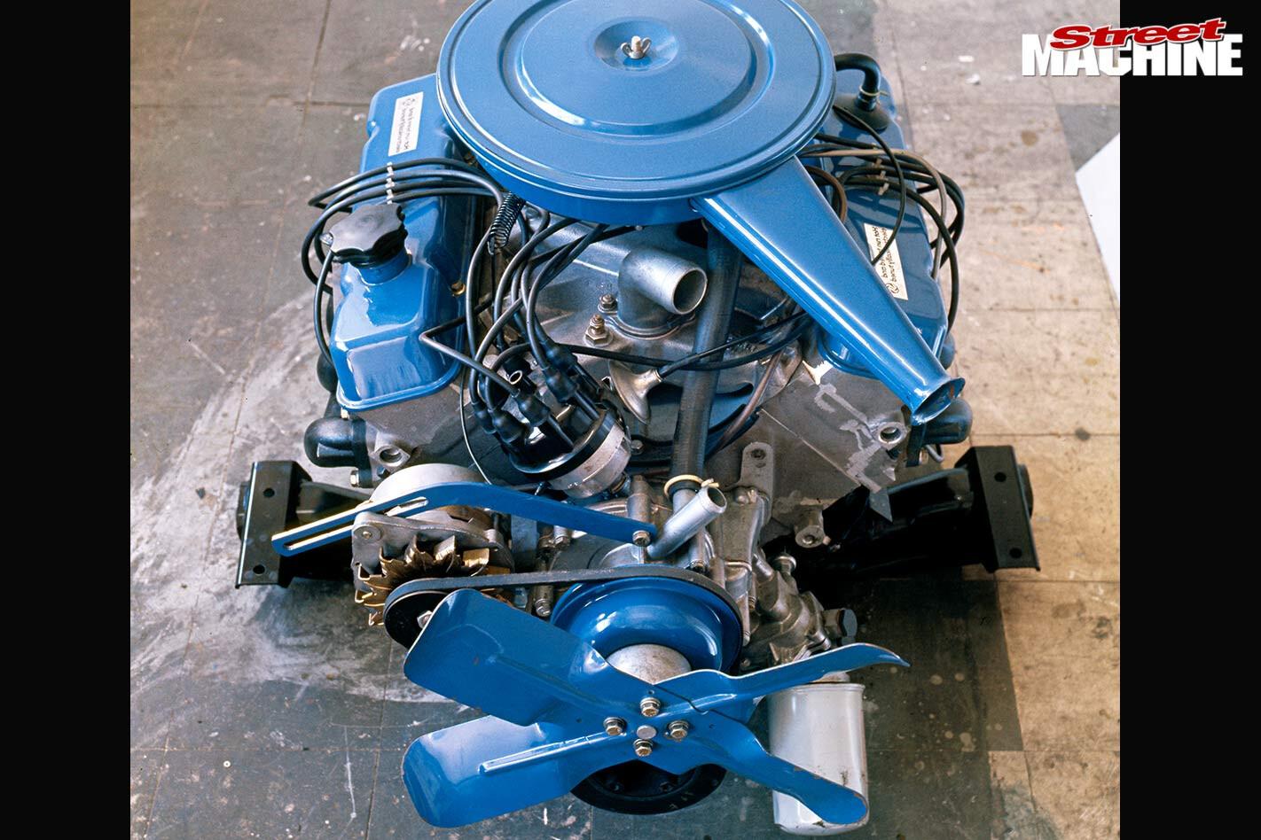 Leyland P76 engine
