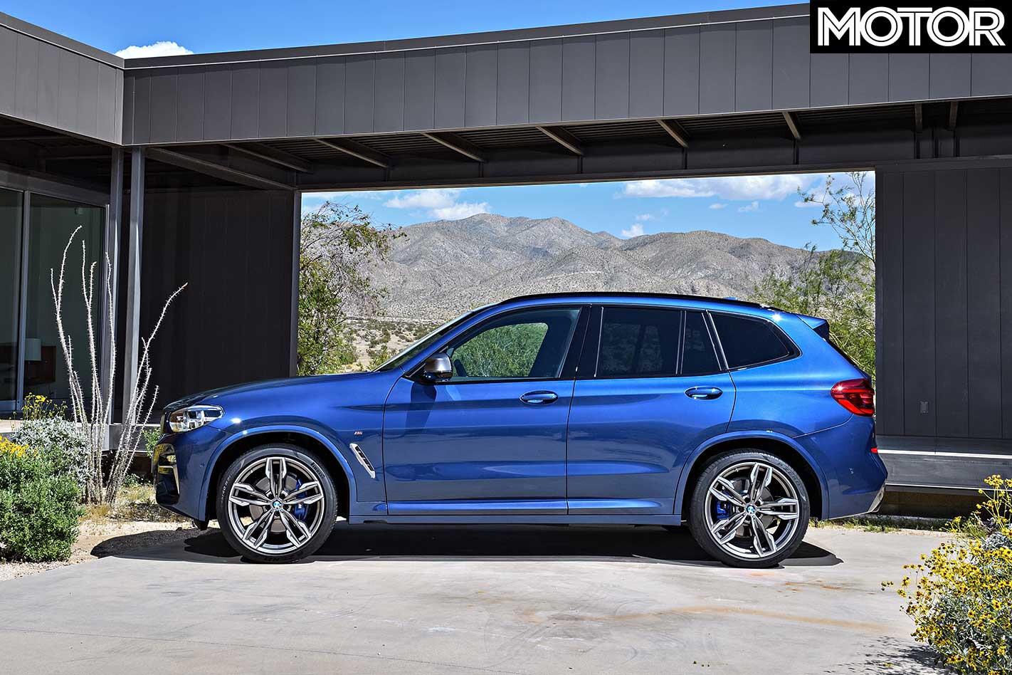 2019 BMW X 3 M 40 I Side Profile Jpg