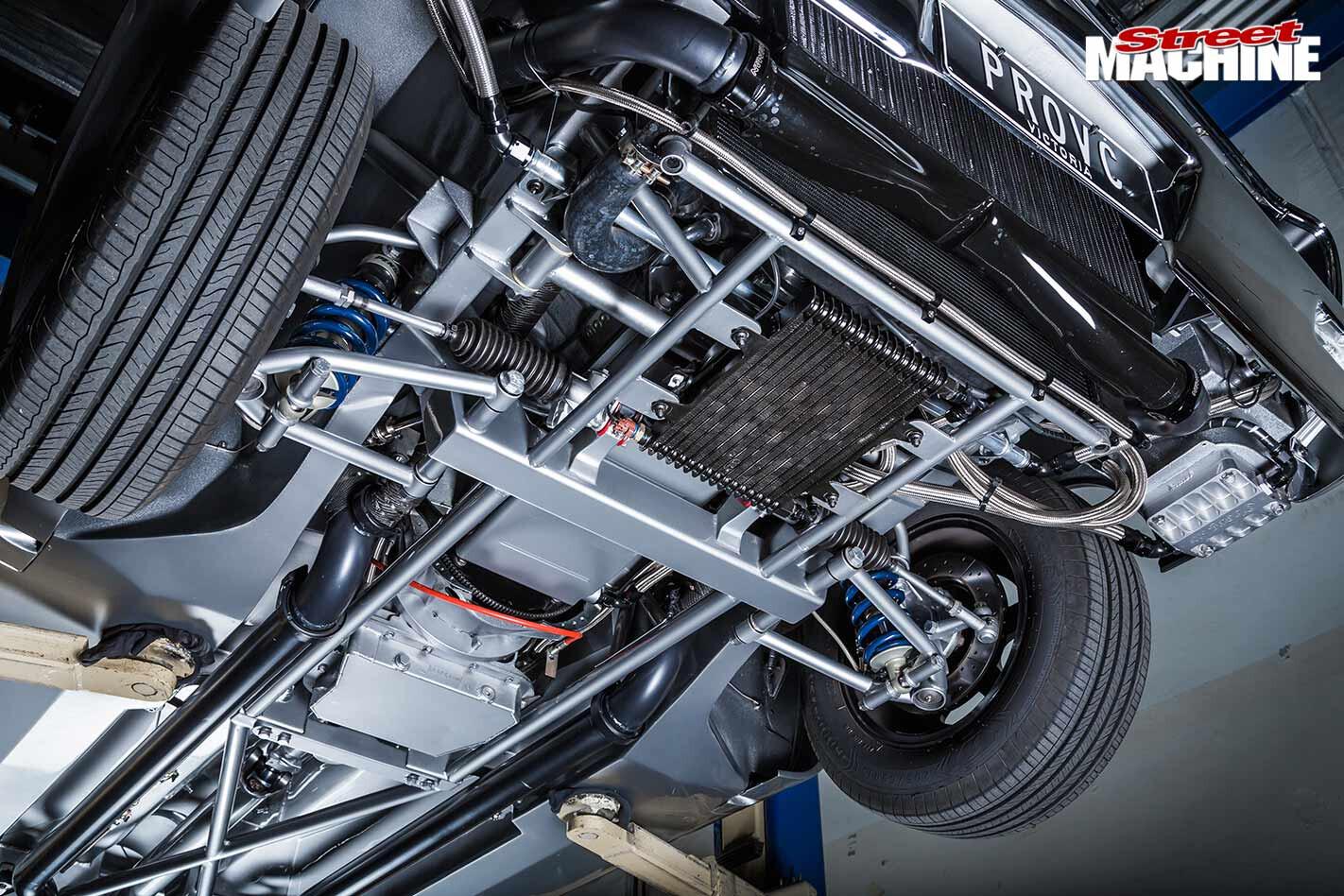 Chrysler VC Valiant underside